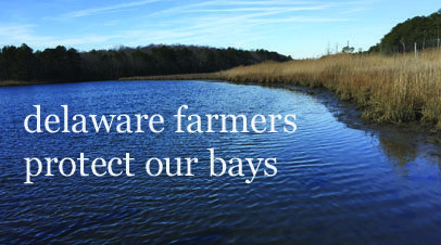 When it comes to water quality protection, Delaware farmers take the job seriously
